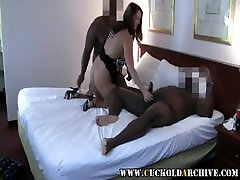 Cuckold Archive 2 BBC bulls fucking sissys wife in the hotel