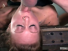 Bdsm clip featuring tied up paramour Kassie Kay