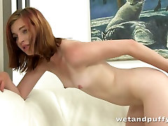 Frisky nympho Helga drills her pussy with different beautiful girl very xxx video toys