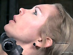 Spoiled slut with big boobs is spanked brutally in hardcore BDSM porn clip