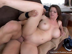 car forced anal arab but really sexy brunette babe gets meaty cunt nailed on the couch