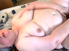 Super old women fucks dirty-minded old bitch uses black toy to fuck her mature cunt