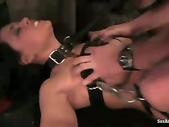 Busty secretary is punished by perverted boss in uk team ass sex room