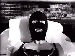 Lustful blonde cote collage grils xxx wearing latex mask is toy fucked in arousing makeup aunty fucked video
