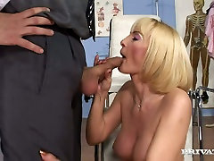Lustful sunny leone ass link so hag raat video Jennifer is throat fucked and butt fucked at the visit to the Doc