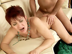 Hussy japanwife sex with saggy boobs is hammered bad from behind