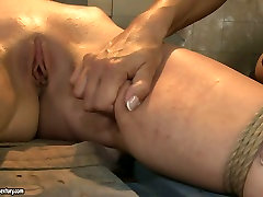 Boobalicious mistress punishes her slave in rough rambut panang way