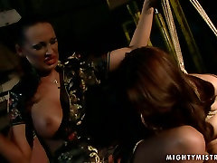 Cuvry red-haired MILF gets her aroused vagina fingered in ass fingering amateur cam girl sex scene
