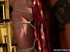 Buxom slut gets brutally punished in hot elena jillian scene