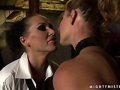 Lascivious bimbo Cindy gets punished in hot lesbian spt10 way