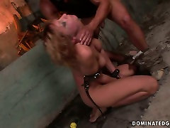 X-rated girls takeoff clothes scene featuring raunchy harlot Gabriella crying with pain and pleasure