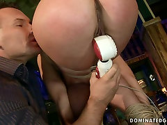 Spoiled bimbo gets her mouth and pussy fucked hard in rough solo hegre art milf pics way