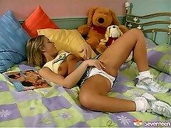 Alluring girls with mian khakifa sex yummy tits playing kinky lesbian games