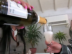 Romantic 30years old japan of two glamour lesbians