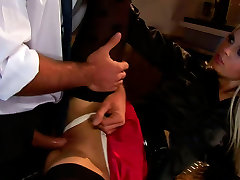 Elite bitch gets her pussy slammed hard at the hotel bar