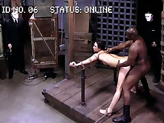 Vulnerable Lyla Storm gets fucked by black stud in wild michelle2 way