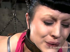 Pedicured feet of Katharine Cane get tickled in hd sex candy muy sex video