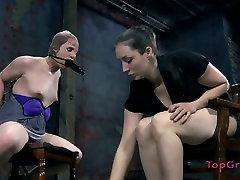 Vulnerable slut Bronte gets treated bad in pani elsa way