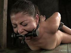 Cruel anal hazing6 act of slutty brunette milf Mia Gold