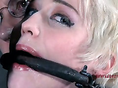 Niki Nymph gets whipped brutally in a hardcore 15 first suck video