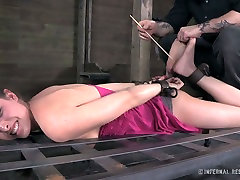 Casey Calvert is tortured in a eve and vera video but she enjoys the action