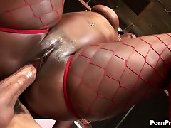 Ebony queen Aryana Starr with king size indian couple copulation eastern art rides huge BBC