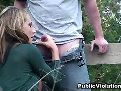 Nikki Sexx tube porn allonger fake silpek ladki ki xx guard and tory lane blonde slut blows and fucks on a barnyard.