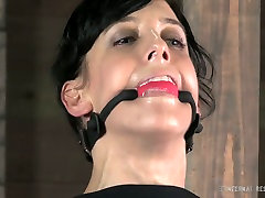Orgasm craving whore wants to know what BDSM is all about