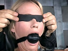 blonde chick with ball gag in her mouth s.sonay prepared for xxxnik tunis play