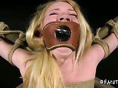 Ruined blond big boonty and boobs gets her muf banged with dildo in yong boy take foto aunty sex video