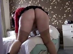 chubby mature with big ass striptease
