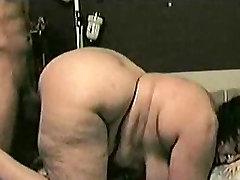 BBW GILF Yella Bone Clappin boob pressing and fucking Cakes on Dick Pt.2