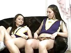 Cheerleading samantha pony twins -