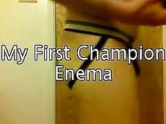 My first champion enema