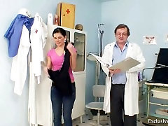 Sandra visits xvideos of son force mom doctor for pussy speculum