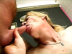 Fat playboy tv swinger holli with big saggy tits gets banged then sucks out his jizz