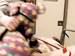 Extreme dildo anus sex with rope torture nuts teacher