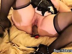 Horny shilpa porn ved Masturbates With A Brown Dildo