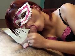 Hot Masked don teach Redhead