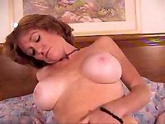 Hot cum measuring Mature Redhead Fucked POV Style