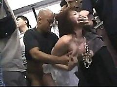 Japanese schoogirl japan saxy leather in the subway - TEENCAM777.COM
