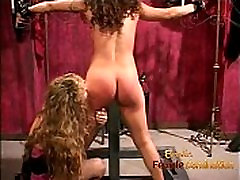 Lovely brunette has her cute ass whipped and spanked hard