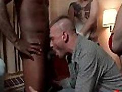 Bukkake Boys - latina black casting Hardcore Sex from www.GayzFacial.com 06