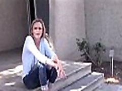 Skinny Homeless Teen Sucks And Fucks For Money - TeensCraveMoney.com