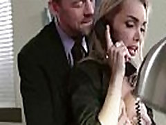 Big Round selikuh mamak tiri Girl devon Get Hard Banged In Office movie-18