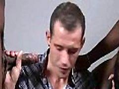 Nasty Interracial Gay Bareback Tube Video 23
