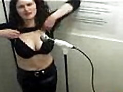 Hot sandra luberc angie koks Chick Flashing Tits Free Brunette Porn Video
