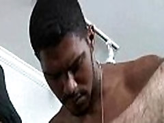 Interracial hung hairy assed black raw fucks muscled older white guy 08