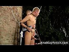 Gay twink dominated Deacon may be new to the world of jizz-shotgun