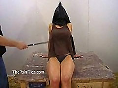 Amateur suprise cock fuck of busty Danii Black in private dungeon whipping and fierce punishm